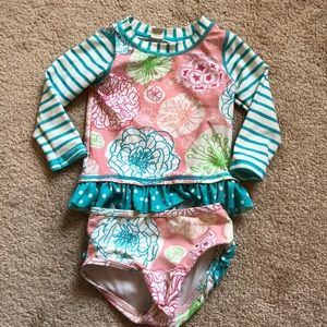 Other - Ruffle Butts two piece bathing suit